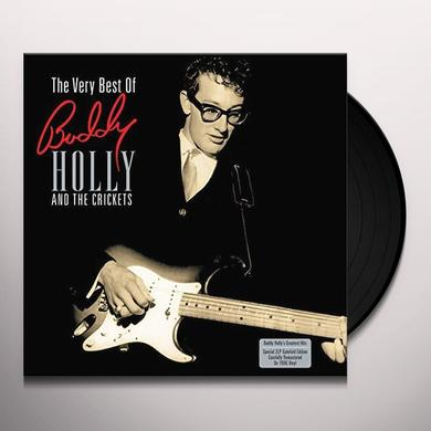 Buddy / Crickets Holly VERY BEST OF Vinyl Record