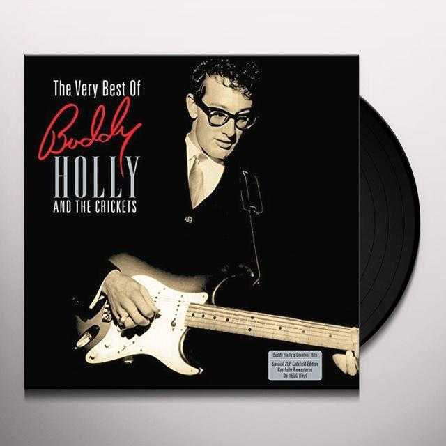 Buddy Holly & The Crickets VERY BEST OF Vinyl Record - UK Import
