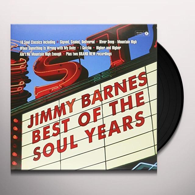 Jimmy Barnes BEST OF THE SOUL YEARS Vinyl Record - Australia Import