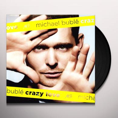 Michael Buble CRAZY LOVE Vinyl Record - Portugal Release