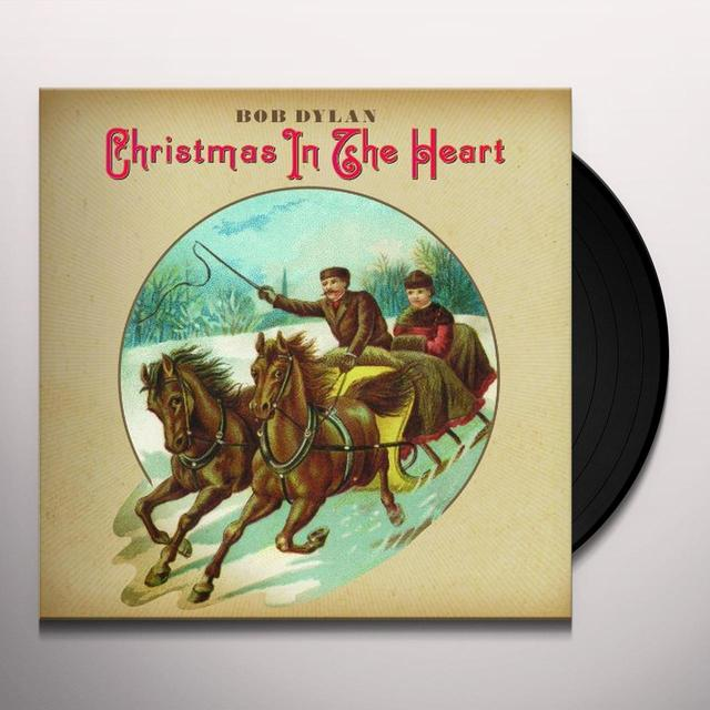 Bob Dylan CHRISTMAS IN THE HEART Vinyl Record - Holland Import