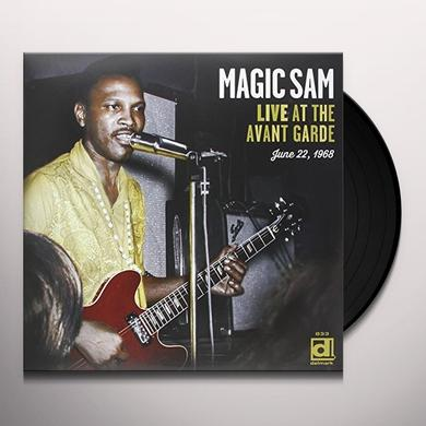 Magic Sam LIVE AT THE AVANT GARDE Vinyl Record