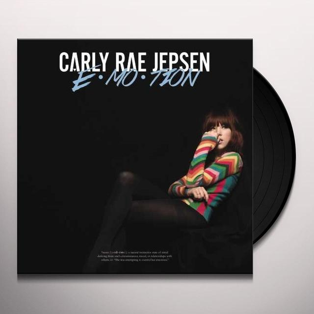 Carly Rae Jepsen EMOTION Vinyl Record