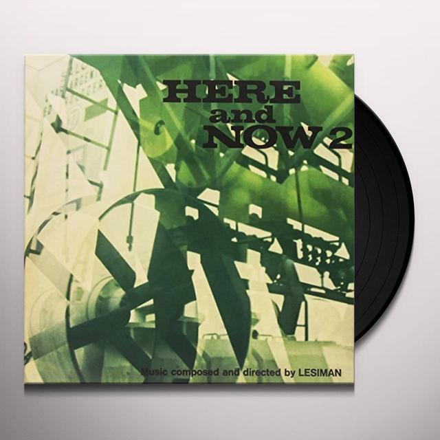 RENOSTO / LESIMAN (W/CD) HERE & NOW 2 Vinyl Record - w/CD