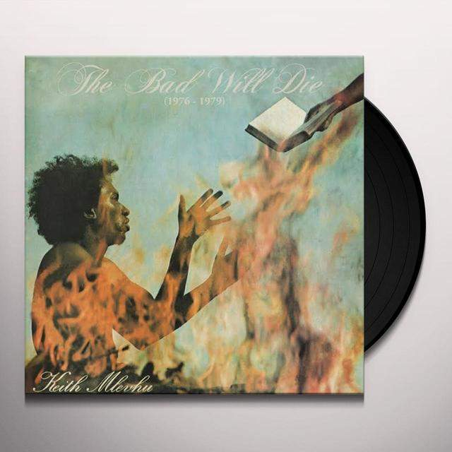Keith Mlevhu BAD WILL DIE Vinyl Record - Limited Edition