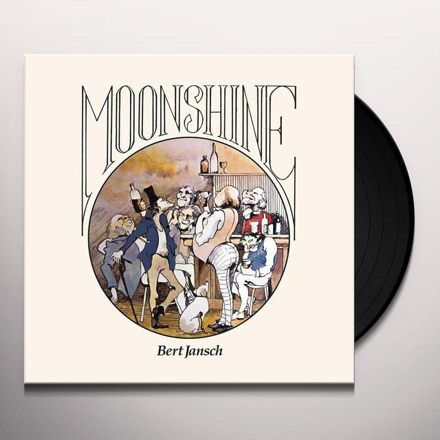 Bert Jansch MOONSHINE Vinyl Record - Limited Edition, Picture Disc, Deluxe Edition, Digital Download Included