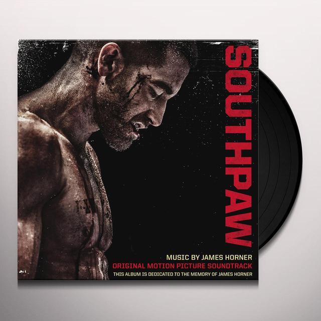 James Horner SOUTHPAW / O.S.T. Vinyl Record - Gatefold Sleeve, 180 Gram Pressing