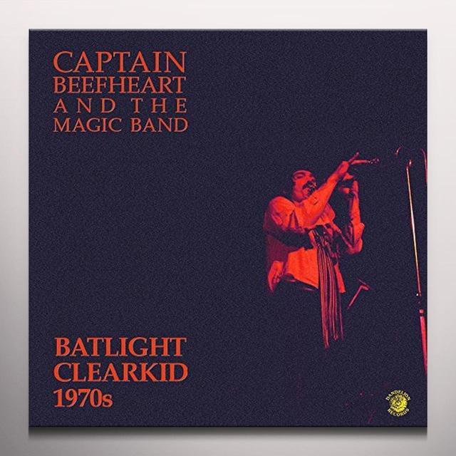 Captain Beefheart & His Magic Band BATLIGHT CLEARKID Vinyl Record - Colored Vinyl, 180 Gram Pressing, Yellow Vinyl