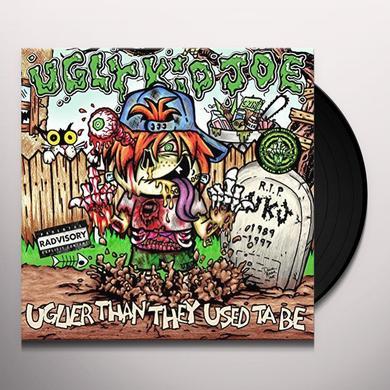 Ugly Kid Joe UGLIER THAN THEY USED TA BE Vinyl Record - Gatefold Sleeve