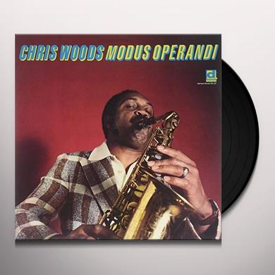 Chris Woods MODUS OPERANDI Vinyl Record