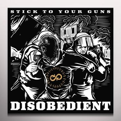 Stick To Your Guns DISOBEDIENT Vinyl Record - Colored Vinyl, Digital Download Included