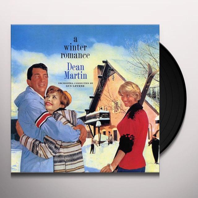Dean Martin WINTER ROMANCE Vinyl Record - Reissue
