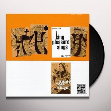 King Pleasure / Annie Ross KING PLEASURE SINGS / ANNIE ROSS SINGS Vinyl Record