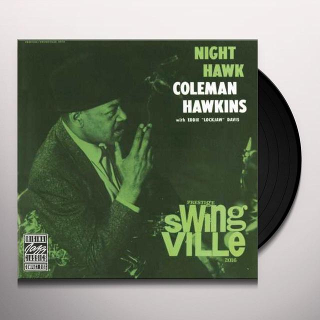 Coleman Hawkins NIGHT HAWK (WITH EDDIE LOCKJAW DAVIS) Vinyl Record