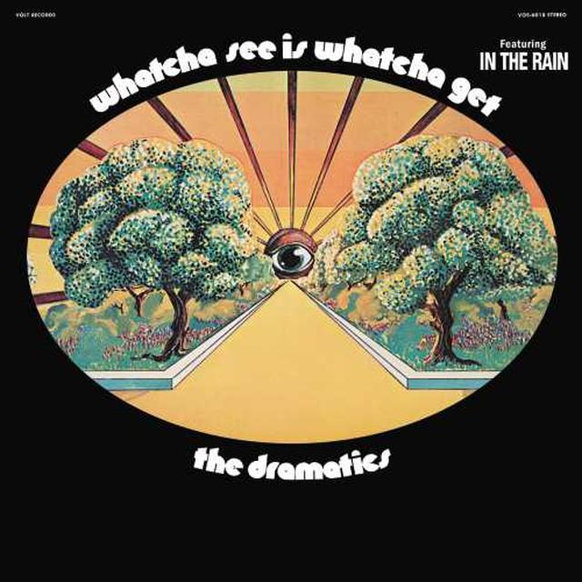 Dramatics WHATCHA SEE IS WHATCHA GET Vinyl Record