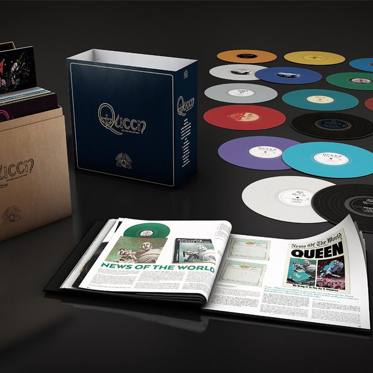 Queen Complete Studio Vinyl Record