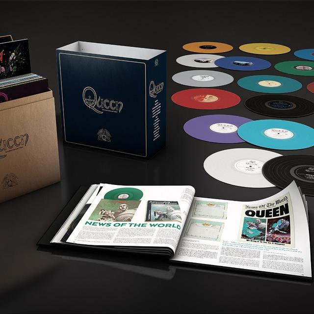 Queen COMPLETE STUDIO Vinyl Record