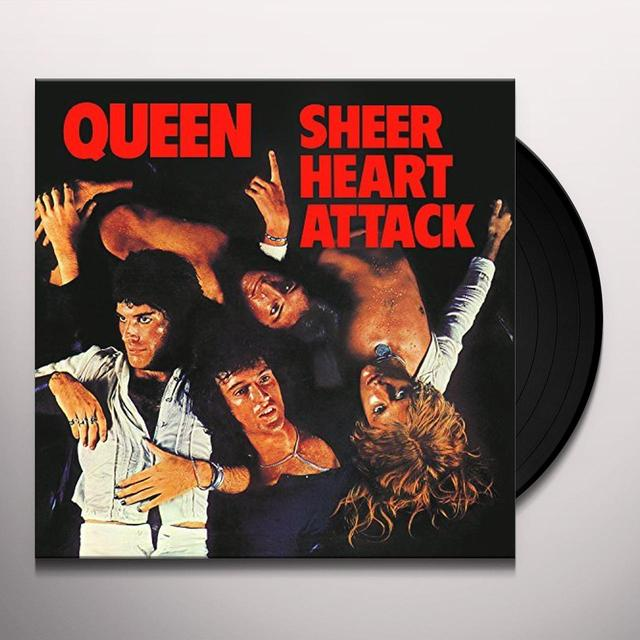 Queen SHEER HEART ATTACK Vinyl Record - 180 Gram Pressing