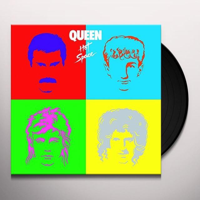 Queen HOT SPACE Vinyl Record - 180 Gram Pressing