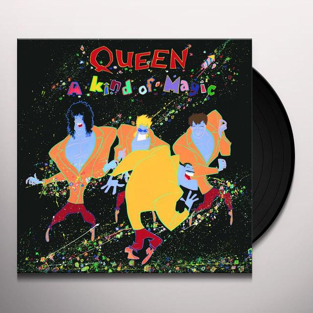Queen KIND OF MAGIC Vinyl Record - 180 Gram Pressing