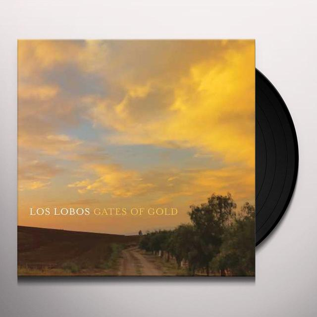 Los Lobos GATES OF GOLD Vinyl Record