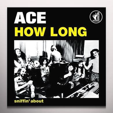 Ace HOW LONG (YELLOW VINYL) Vinyl Record