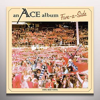 Ace FIVE-A-SIDE (RED VINYL) Vinyl Record - Colored Vinyl, UK Import