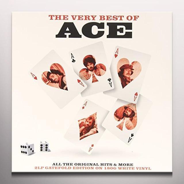 Ace VERY BEST OF (WHITE VINYL) Vinyl Record - Colored Vinyl, UK Import