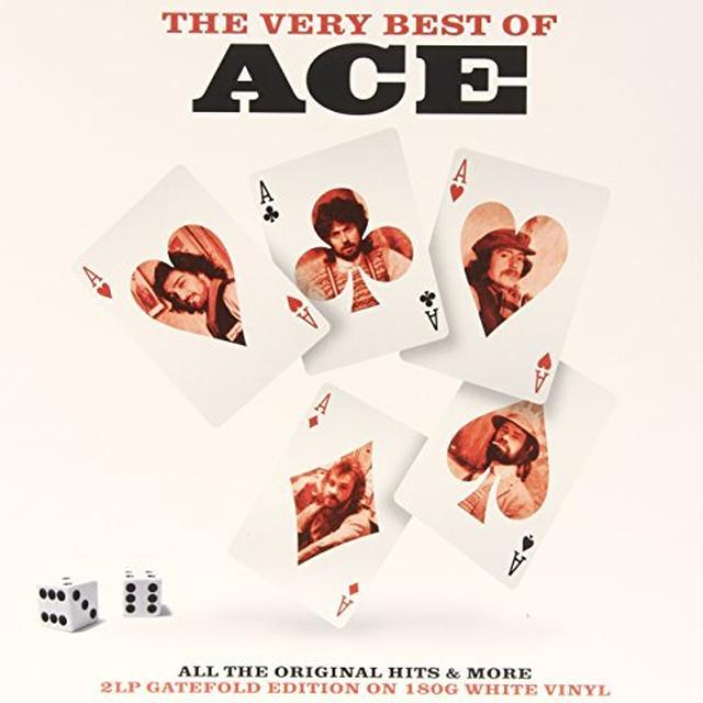 Ace VERY BEST OF (WHITE VINYL) Vinyl Record