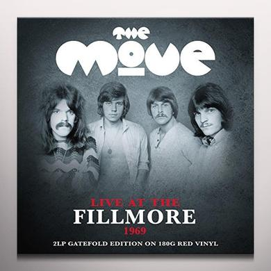 Move LIVE AT THE FILLMORE (RED VINYL) Vinyl Record - Colored Vinyl, UK Import