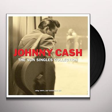 Johnny Cash SUN SINGLE Vinyl Record - UK Import