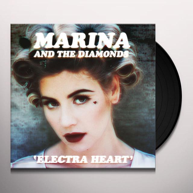 Marina & The Diamonds ELECTRA HEART Vinyl Record - UK Import