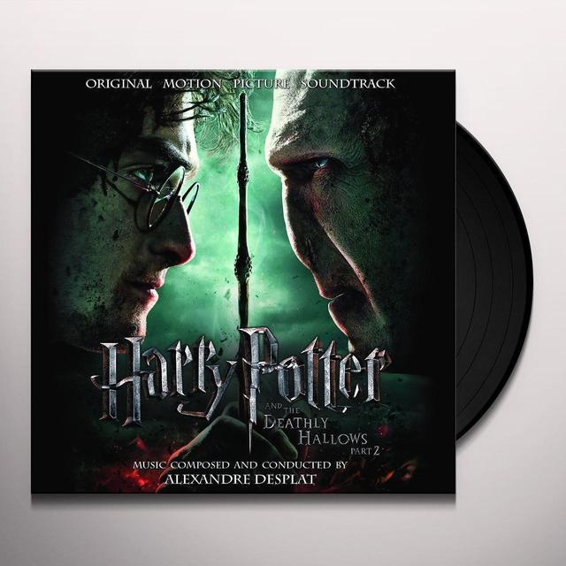 HARRY POTTER & DEATHLY HALLOWS PART 2 (SCORE) Vinyl Record