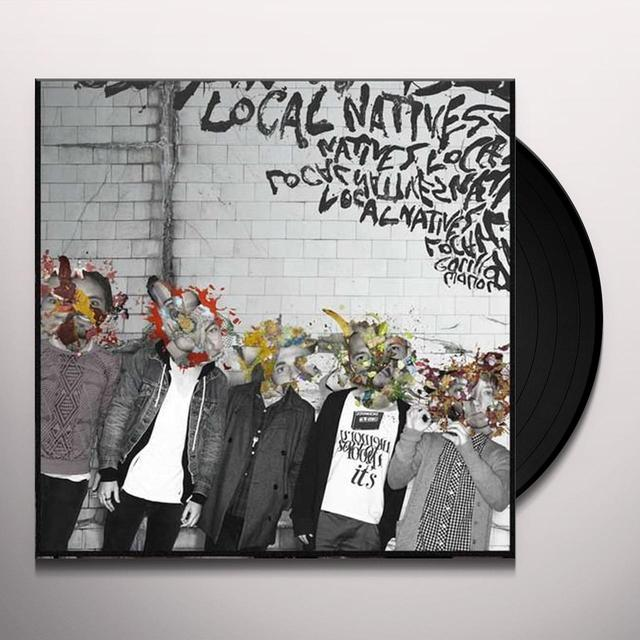 Local Natives GORILLA MANOR Vinyl Record - UK Import