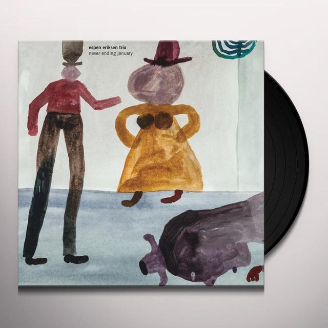 Espen Eriksen NEVER ENDING JANUARY Vinyl Record