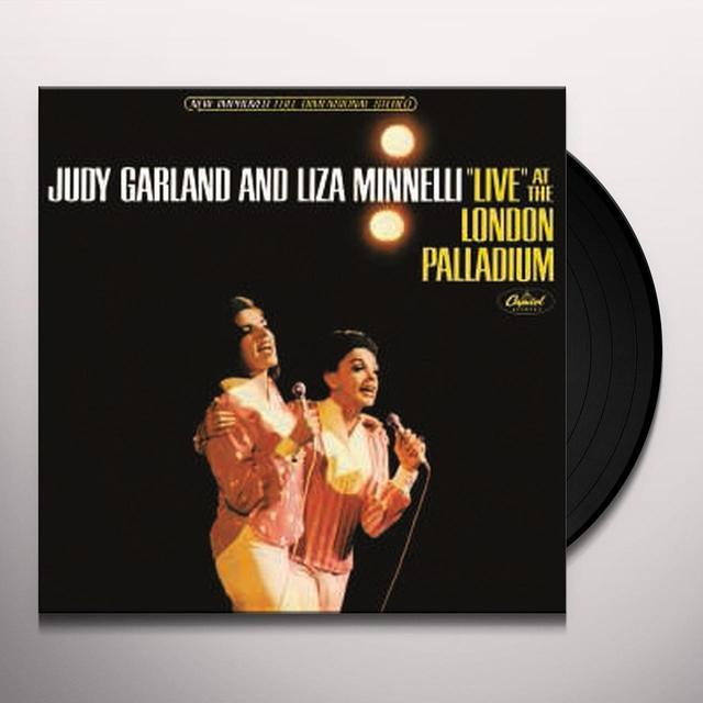 Judy Garland & Liza Minnelli LIVE AT THE LONDON PALLADIUM Vinyl Record