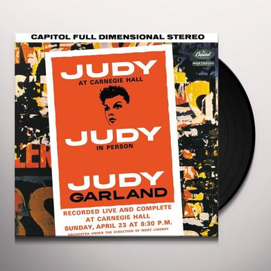 Judy Garland JUDY AT CARNEGIE HALL Vinyl Record
