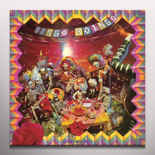 Oingo Boingo DEAD MANS PARTY Vinyl Record - Colored Vinyl, Deluxe Edition, Reissue
