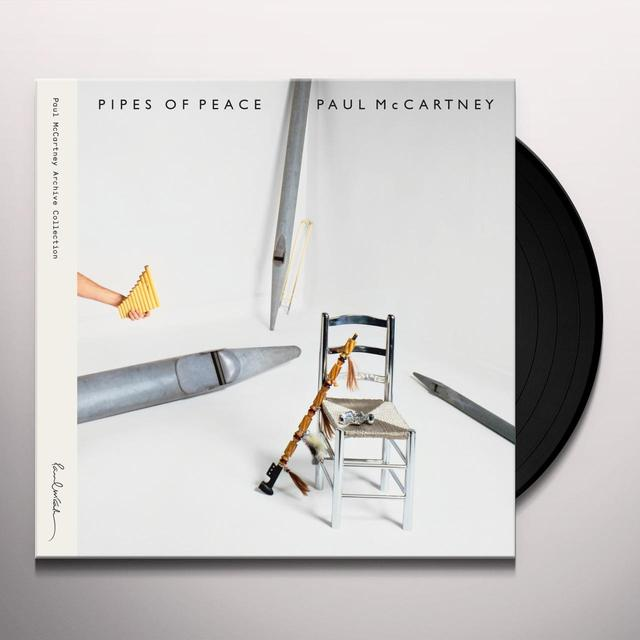 Paul McCartney PIPES OF PEACE Vinyl Record