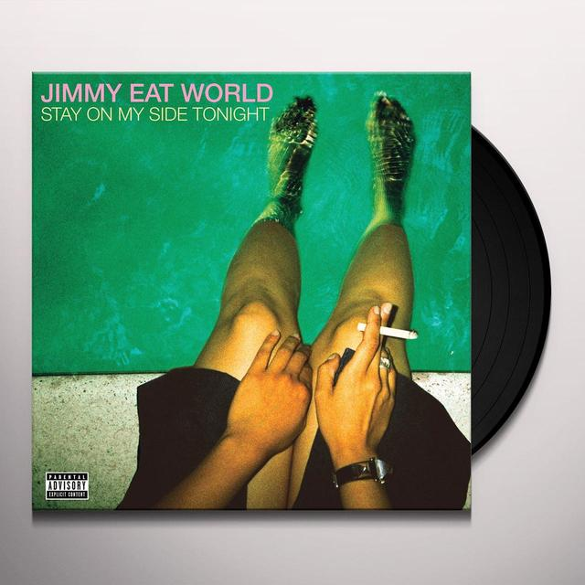 Jimmy Eat World STAY ON MY SIDE TONIGHT Vinyl Record