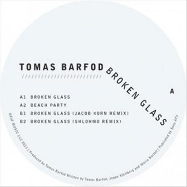 Tomas Barfod BROKEN GLASS Vinyl Record