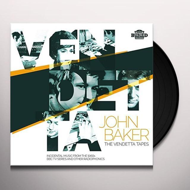 John Baker VENDETTA TAPES Vinyl Record
