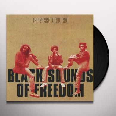Black Uhuru BLACK SOUNDS OF FREEDOM Vinyl Record