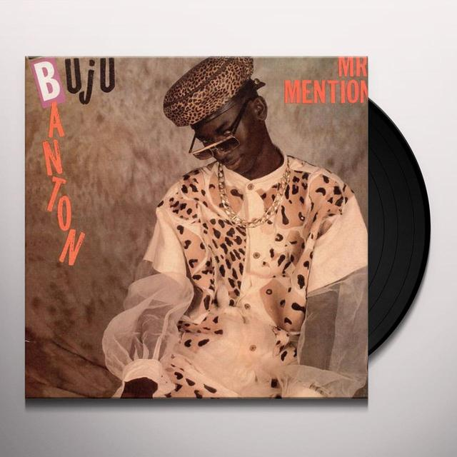 Buju Banton MR. MENTION Vinyl Record