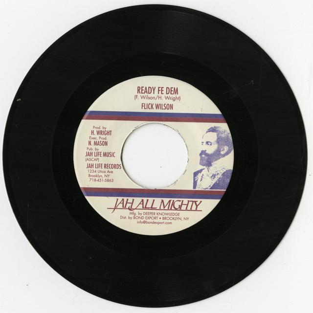 Flick Wilson READY FE DEM Vinyl Record