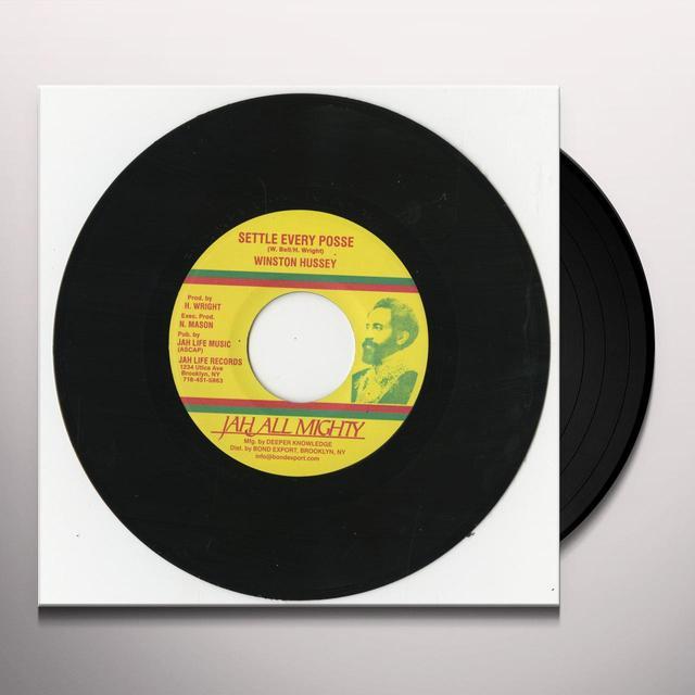 Winston Hussey SETTLE EVERY POSSE Vinyl Record