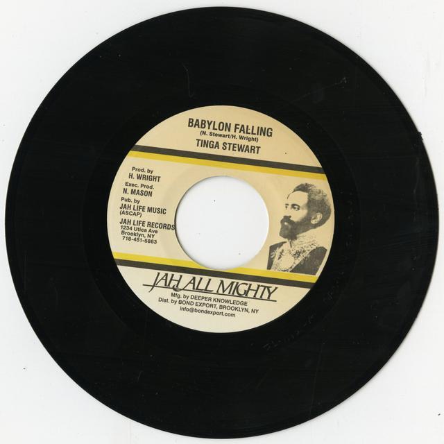 Tinga Stewart BABYLON FALLING Vinyl Record