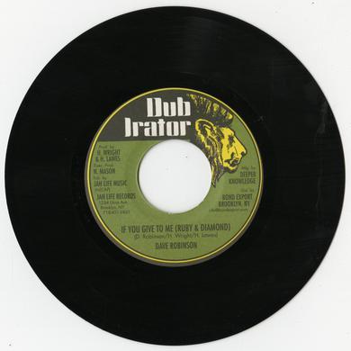 Dave Robinson IF YOU GIVE TO ME (AKA RUBY & DIAMOND) Vinyl Record