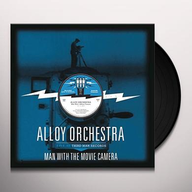 ALLOY ORCHESTRA MAN WITH THE MOVIE CAMERA: LIVE AT THIRD MAN Vinyl Record