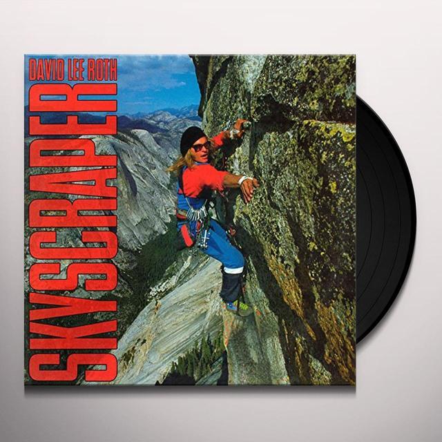 David Lee Roth SKYSCRAPER Vinyl Record - Gatefold Sleeve, Limited Edition, 180 Gram Pressing